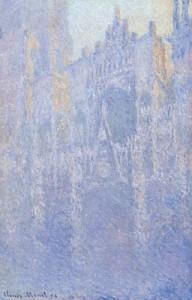256px-Claude_Monet_-_Rouen_Cathedral,_Facade_(Morning_effect)